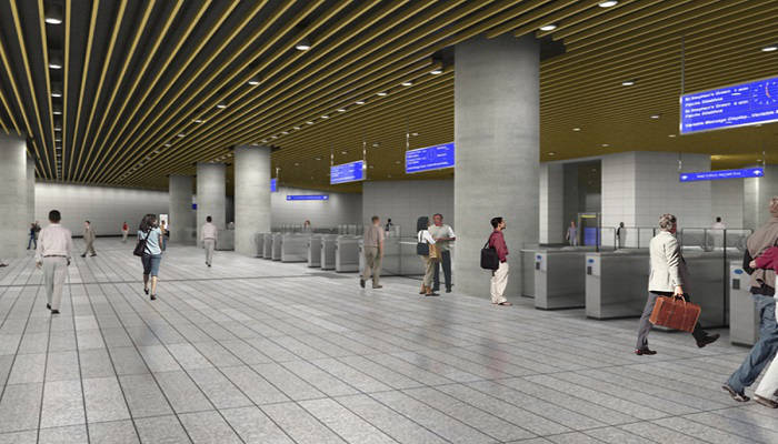 Ballymun Metro Station in Dublin