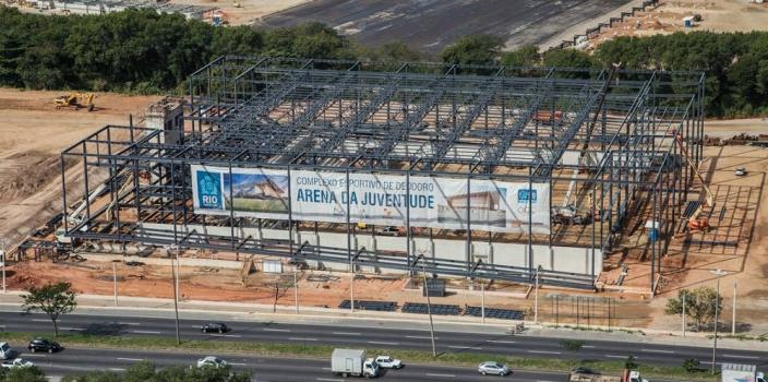Deodoro Olympic Park – Construction