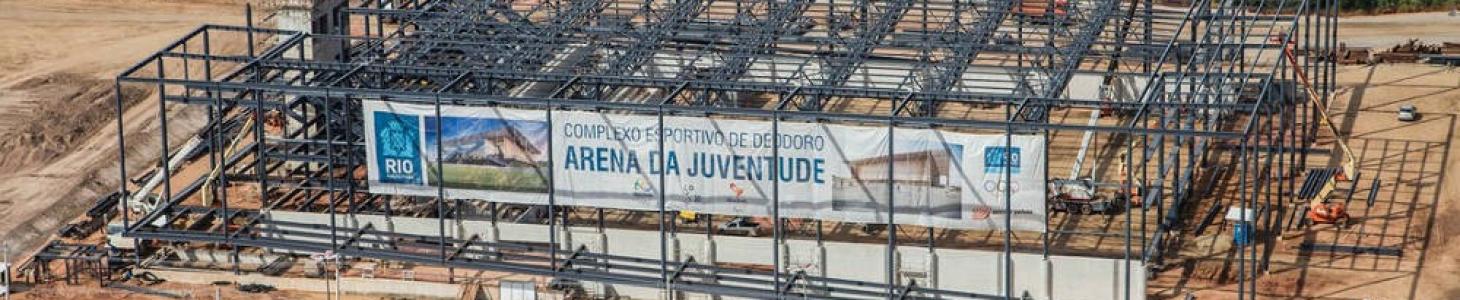 Parque Olímpico de Deodoro – Evolução da construção
